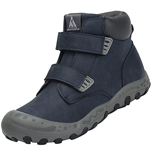 Mishansha Niño Niña Zapatillas Senderismo Ligero y Transpirable Zapatos de Senderismo Antideslizante Botas de Montaña al...