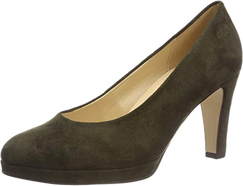 Gabor Shoes Damen Fashion Pumps, Grün (Oliv 41), 42 EU
