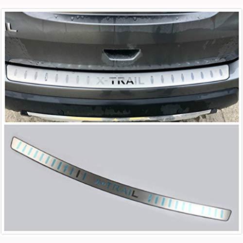 Auto Edelstahl Heckstoßstange Schutzschwelle, für Nissan X-Trail X Trail T32 2014-2020 Rear Bumper Protector Einstiegsleisten Scuff Plate, Car Styling Zubehör