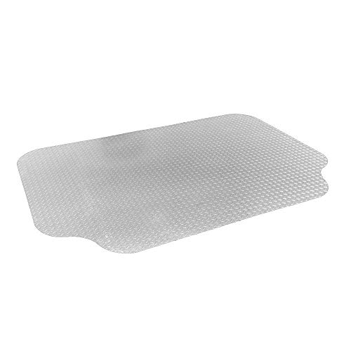 RESILIA - Large Under Grill Mat – Silver, 72 x 48 inches, 12-inch Splatter Protection Lip, for Outdoor Use