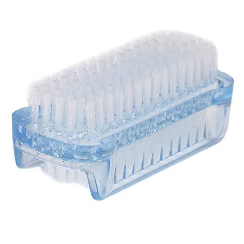 DDU Brosse de Nettoyage Des Ongles Double Face Nettoyeur à Poussière Couleur Aléatoire Pour Manucure Pédicure Plastique PP 1pc