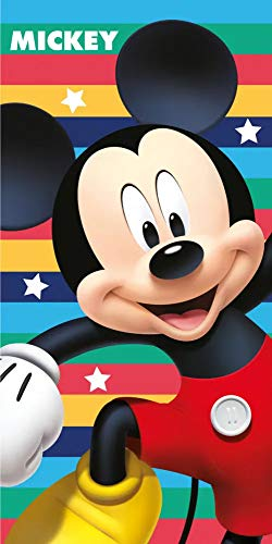 Mickey Mouse- Toalla de bao (140 x 70 cm)