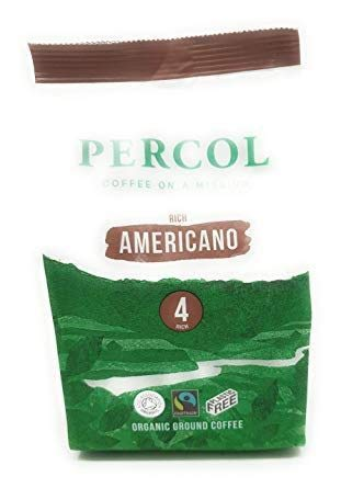 PERCOL | Rich Americano Fairtrade Org | 3 x 200g (ES)
