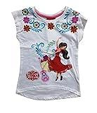 Disney Elena of Avalor Dance T-Shirt, Blanc (White Optic White), 4 Ans Fille