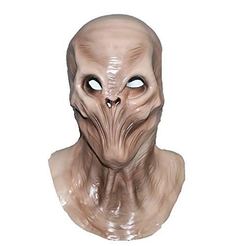 Hengyutoy Mask Máscara de Halloween Horror Cubierta de la Cabeza alienígena de Halloween U Cosplay Horror Extraterrestres Máscaras de Terror