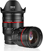 Meike MK-50mm F1.2 LargeAperture Manual Focus Fixed Lens for Sony Full Frame and Sony E Mount APS-C Mirrorless Cameras A7 A7 II A7III A7S II A7S III A7R II A7R III A7R IV A9 A9II A7C A6300 A6400 etc