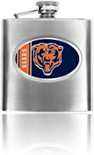 Personalized NFL Chicago Bears 8oz stainless steel Flask- Free Engraving
