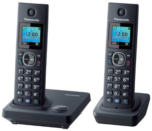 Panasonic KX-TG7852 - Teléfono fijo inalámbrico Dúo (LCD