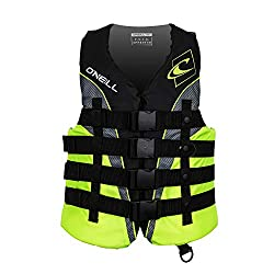 O'Neill Wetsuits Wake Waterski Mens Superlite USCG Nylon Life Vest