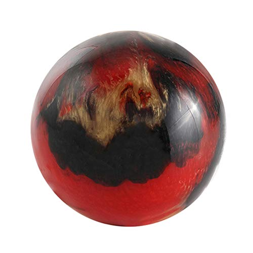 KXDLR Persönliche Bowlingkugel, Schwarz, Rot 9-12 £,9lb