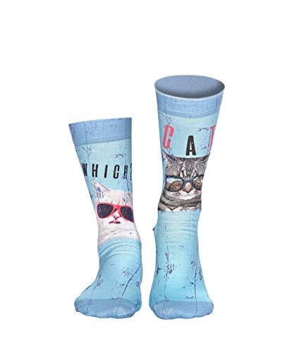 Wigglesteps Damen Socken COOL CATS, one Size (36-41)