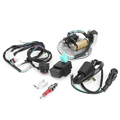 Bobina de unidad CDI del estator de arranque del arnés de cableado de encendido duradera para XRCRF 50 50 cc-125 cc para piezas de repuesto
