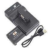 DSTE AHDBT-401 - Juego de baterías y cargador para cámara GoPro Hero 4 Hero 4+ (2 unidades)