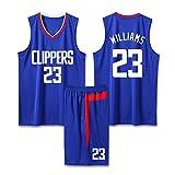 Photo de Z/A Lou Williams # 23 Los Angeles Clippers Uniformes Costume Uniforme De Basket-Ball sans Manches pour Hommes De Collège Personnalisés Et De Basket-Ball Féminin,5XL par