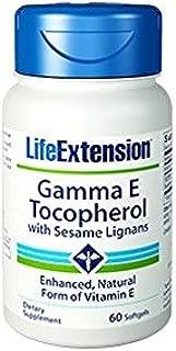 Life Extension Gamma E Mixed Tocopherols Enhanced Natural Form of Vitamin E 60 softgels