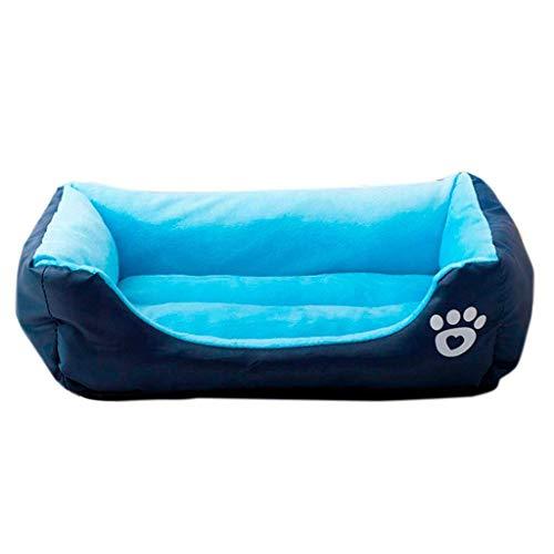 Gris, S YOUJIA Perro Casa Mascotas Cama Saco de Dormir Cojin C/álido para Cachorro Perrito Gato