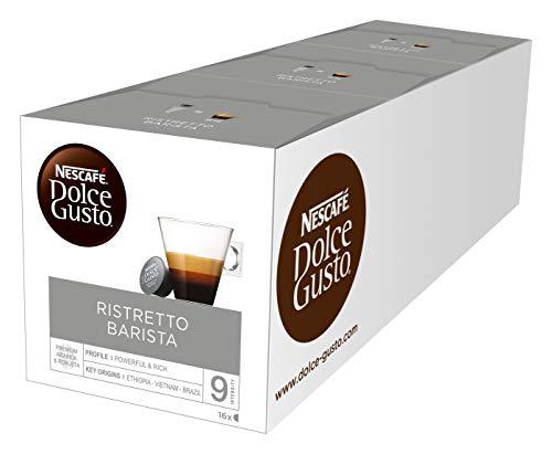 Nescafé Dolce Gusto Espresso Barista, Confezione da 3 x 16 capsule
