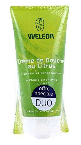 Weleda Crème de Douche au Citrus Lot de 2 x 200 ml