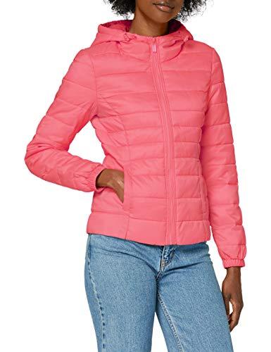 Only ONLNEWTAHOE Contrast Hood Jacket CC Otw Giacca, Rosa Shocking, XS Donna