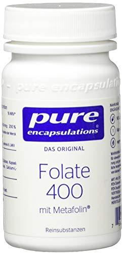 Folate 400 18 g 90 Kps von pure encapsulations®
