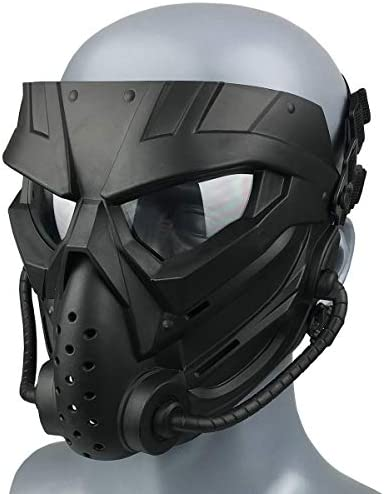 Airsoft Skull Masks Full Face Tactical Mask with Anti Fog Lens Protective for BB Gun CS Game product image