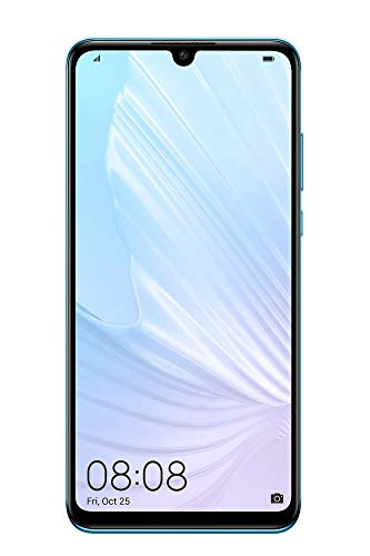"Huawei P30 Lite 128GB Hybrid-SIM Breathing Crystal [15,62 cm (6,15"") LCD Display, Android 9.0, 48+8+2MP Triple Hauptkamera], Azul"