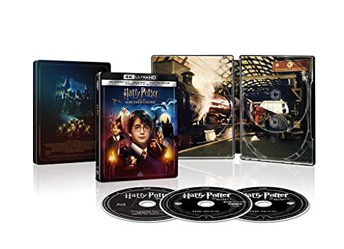 Harry Potter e La Pietra Filosofale - 20th Ann Steelbook (4KUltra HD + Blu-Ray)