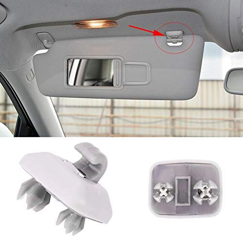 Clip del Gancho de la Visera del Coche, Clip Interior de la Visera del coche para Au-di A1 A3 S 3 A4 S4 A5 S5 Q3 Q5 TT Qua-ttro