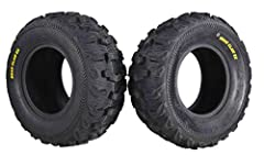 New tread design used for the Bear Claw EX. Center tread lugs feature innovative ramp edge. Tough 6-ply rated casing for unmatched durability. Built-in rim saver on sidewall casing.