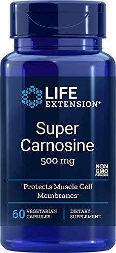500mg Super Carnosine 60 Vegetarian Capsules