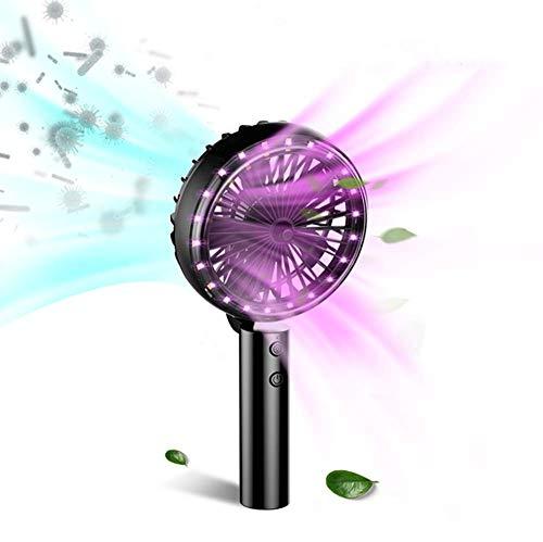 Lámpara 2 en 1 esterilización UV luz ultravioleta con desinfectante eléctrico manual ventilador antibacteriano 99%