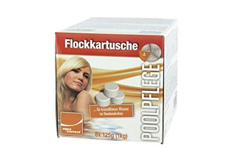 Steinbach Aquacorrect 70204 floculation Cartouche 8 x 125 g/1 kg
