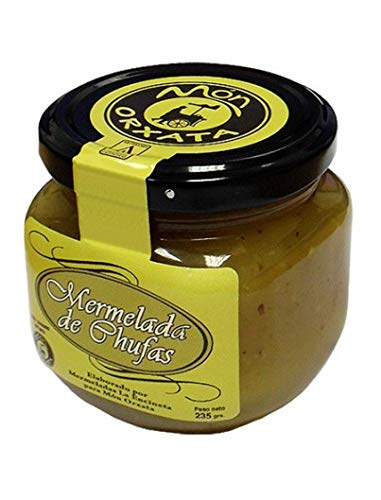 Mermelada de Chufa. 250 g. Elaborada artesanalmente de forma casera por Mermeladas La Encineta para Món Orxata desde 2006.