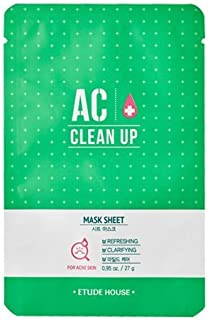 [Etude House] Ac Clean Up Sheet Mask