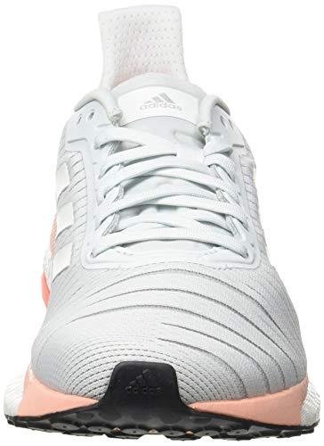 adidas Damen Solar Glide 19 Straßenlaufschuhe, Blutin/Ftwwht/Glopnk - 3