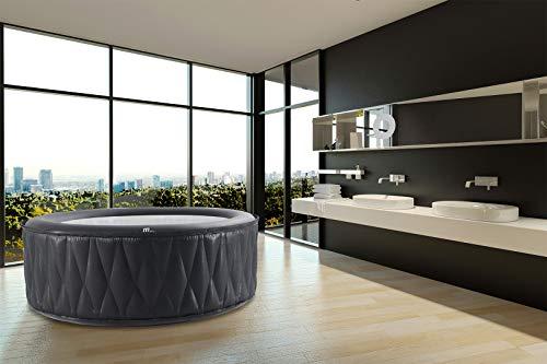 Miweba Premium MSpa Aufblasbarer Whirlpool Outdoor Mont Blanc P-MB06-138 Massagedüsen - Ozongenerator - 6 Personen - Tüv GS geprüft - 930 Liter - Pool aufblasbar