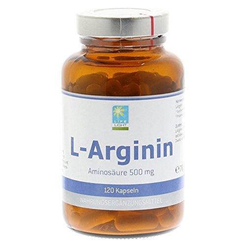 L de Arginina 500mg cápsulas 120St
