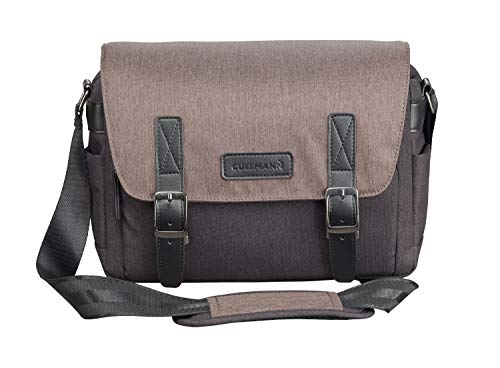 Cullmann Bristol Maxima 322+ Kameratasche im Messenger-Stil mit Tablet-Fach, Farbe braun