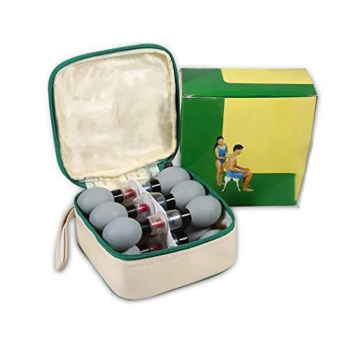 Succión Kit De Ventosas Corporales Masaje Relajación Muscular Cara Acupuntura - Ventosas Copas De Masaje Cristal Anticelulitica, Ventosas Cupping Masaje Facial Magnético Therapy Set