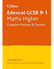 Edexcel GCSE 9-1 Maths Higher All-in-One Complete Revision and Practice: Ideal for home learning, 2021 assessments and 2022 exams (Collins GCSE Grade 9-1 Revision)