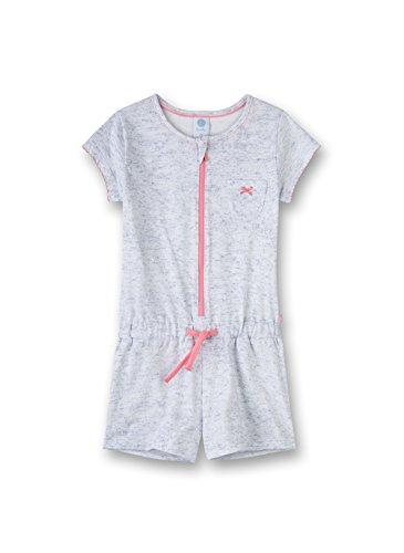 Sanetta Mädchen Jumpsuit Short Einteiliger Schlafanzug, Blau (Fjord 50154.0), 116