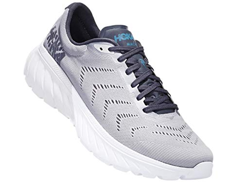 Price comparison product image HOKA ONE ONE Men's Mach 2 Drizzle / Storm Blue 12 D US