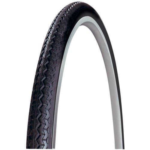 Michelin Reifen WorldTour Draht, Schwarz/Weiß, 28 Zoll