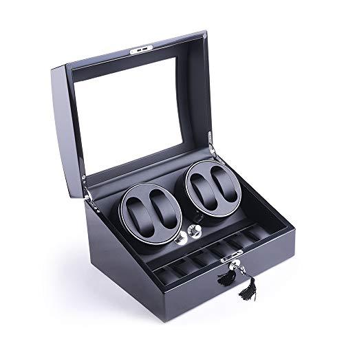 XTELARY Luxus Automatische Uhrenbeweger für 4+6 Uhren