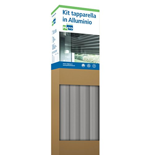Rollplast ALLKTASM0300000083016001 aluminium profiel 1255 eenvoudig te monteren, zuinig, duurzaam. Kleur: grijs.