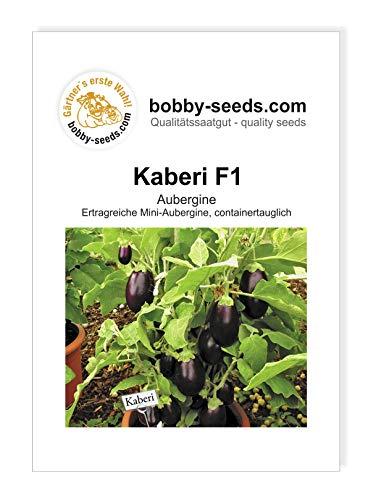 Bobby-Seeds Eierfruchtsamen Kaberi F1 Miniaubergine Portion