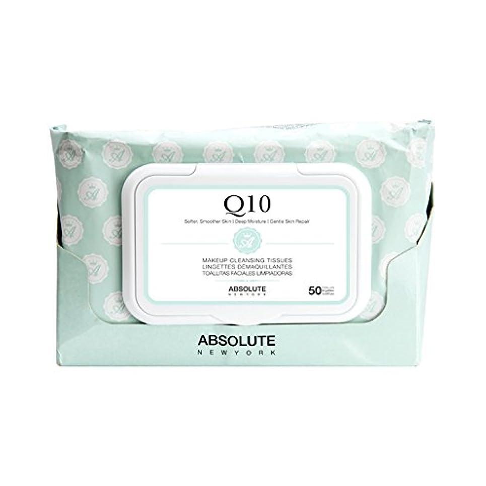 彫る単独で受取人ABSOLUTE Makeup Cleansing Tissue 50CT - Q10 (並行輸入品)