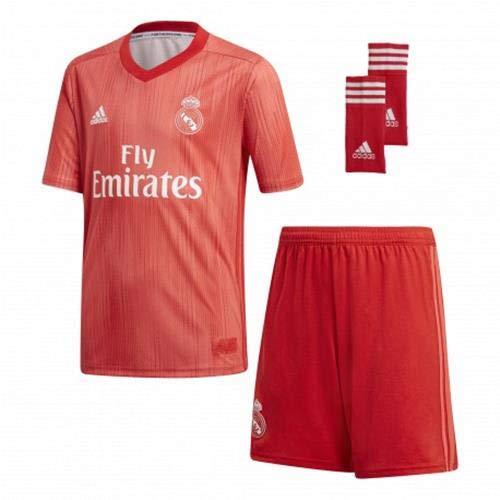 adidas Real 3 Y Kit Mixte Enfant L Rose