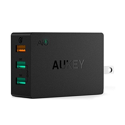 Aukey 42W - 1x QC 3.0