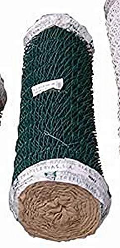 MOREDA 390591 Enrejado/Malla Simple Torsion Verde 17 x 50 mm-120 cm-25 m